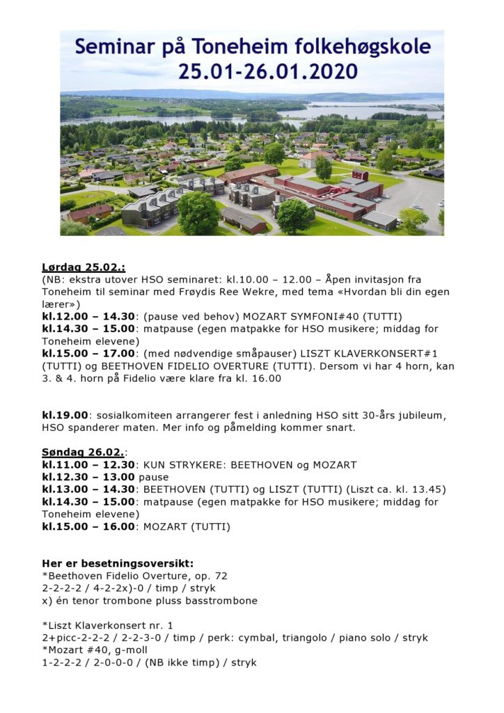 Program for seminaret 25.-26.januar på Toneheim